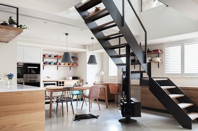 wooden staircase design photos