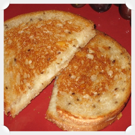 The Best Grilled Cheese Ever!