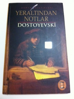 Yerlatından Notlar Dostoyevski ikinci el kitap satın al