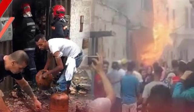 انفجار قوي يهزّ المدينة القديمة بالبيضاء ويثير الرعب في السكان – فيديو