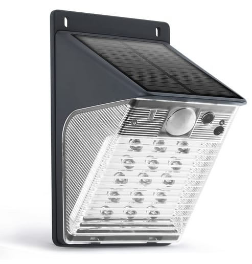 ENSTER Solar Battery Powered Cam with 15LED Motion Sensor