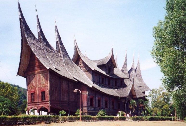 Istana Pagaruyung di Batusangkar