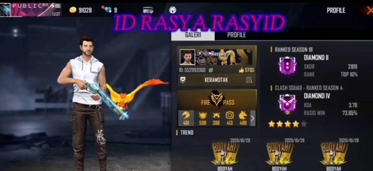 ID Rasyah Rasyid FF