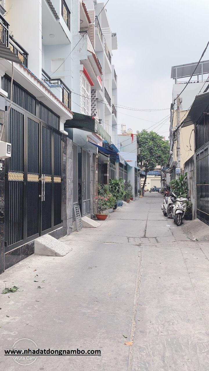Bán nhà hẻm 14 Trương Phước Phan phường Bình Trị Đông quận Bình Tân