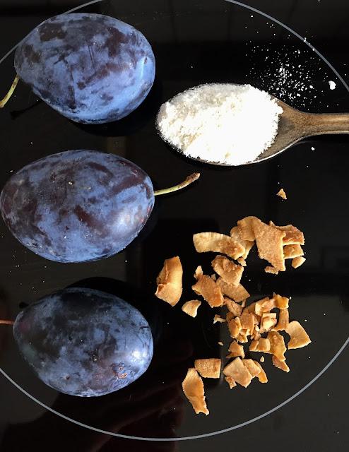 Pflaumen-Kokos-Konfitüre, Rezept glutenfrei & vegan, Tropicai, Minimalismus: Zubereitung einfach + schnell, Healthy Food Style