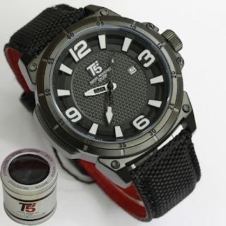 Merk Jam Tangan Terkenal T5 warna dalam hitam