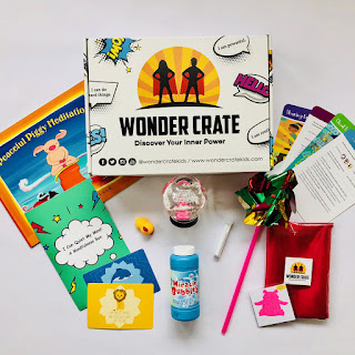Wonder Crate subscription box that promotes emotional intelligence