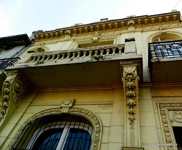 Fachada no bairro de Palermo