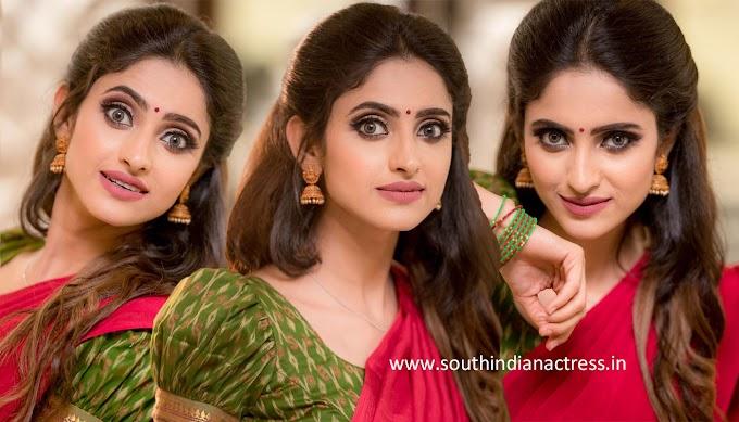 Actress Ayesha Pics In Half Saree Photos