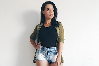 Look | Shorts Jeans com Camisa