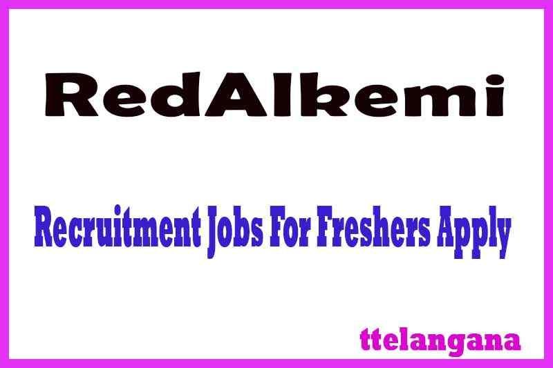 RedAlkemi Recruitment Jobs For Freshers Apply