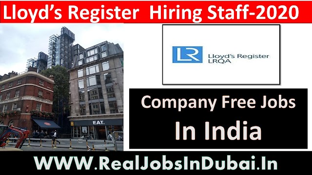 Lloyd's Register  Hiring Staff-2020 In India .