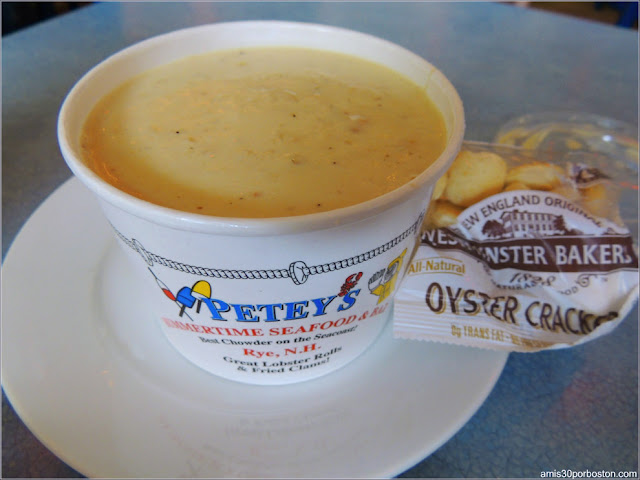 Clam Chowder, New Hampshire