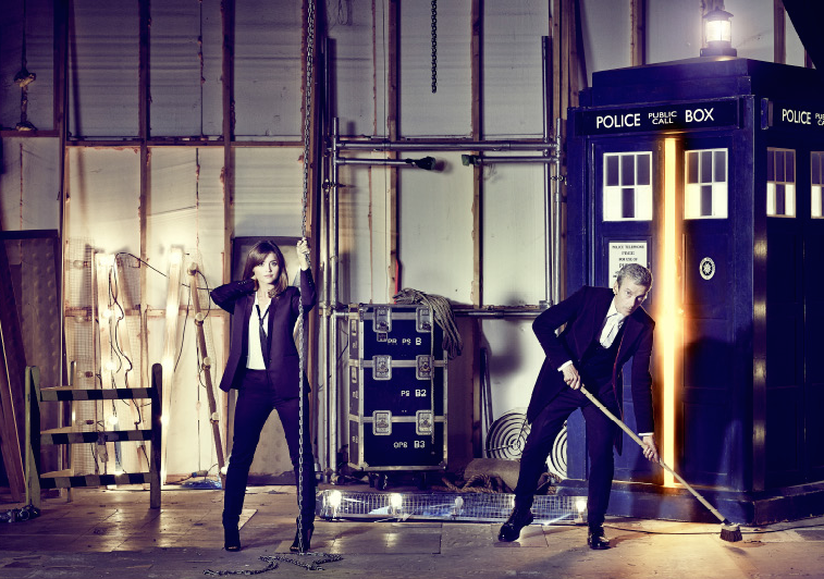ET Jenna Coleman Peter Capaldi Doctor Who Love Life Lexi