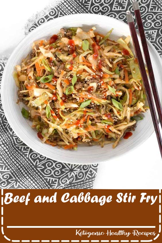 Beef and Cabbage Stir Fry
