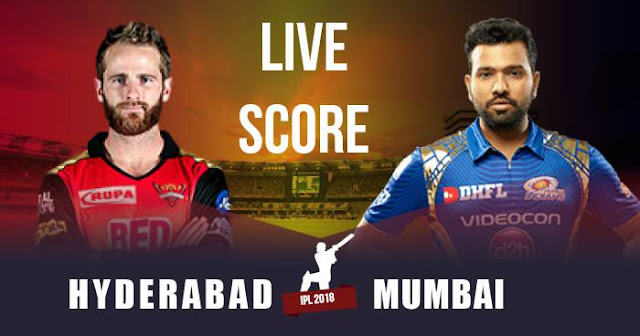 IPL 2018 Match 7: SRH vs MI: Live Score Update, Full Scorecard