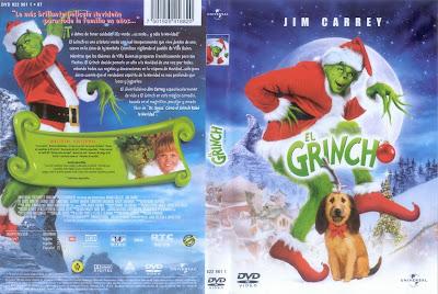 Carátula dvd: El Grinch