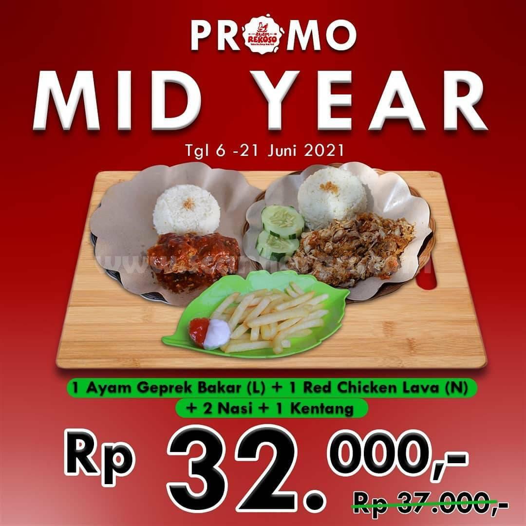 Promo Ayam Rekoso Paket Mid Year harga mulai Rp. 32 Ribuan