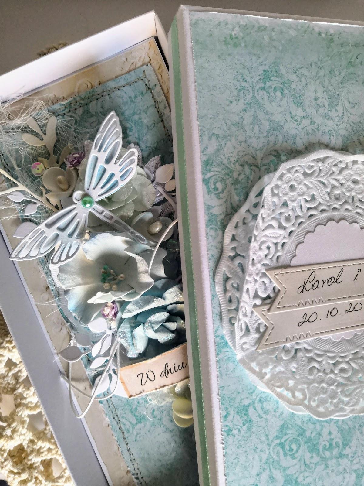 Kartka Ślubna z ważką