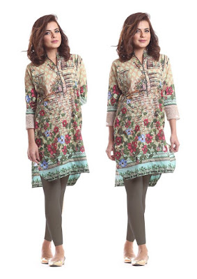 Alkaram designs for kurtis latest