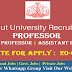 Calicut University Teaching Faculty Vacancy 2020