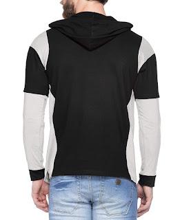V3Squared Men's Cotton Hooded T-Shirt