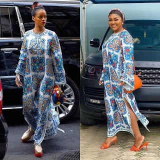 Rihanna Vs Mercy Aigbe fashion face off