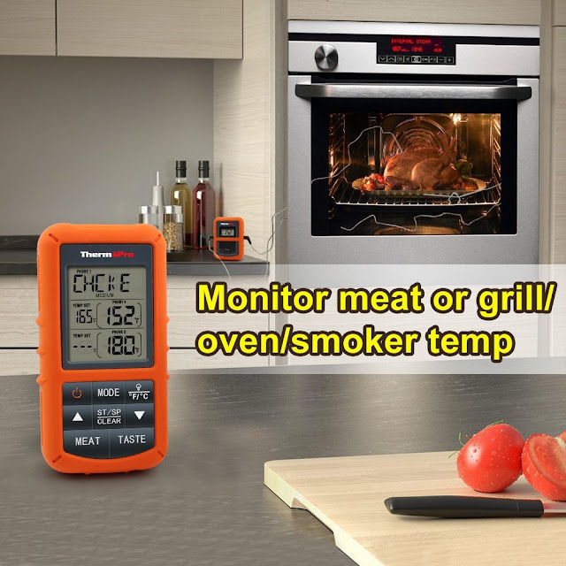 thermopro tp20 wireless remote digital meat food thermopro thermometer