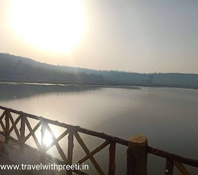 धरम सागर झील पन्ना - Dharam Sagar Pond Panna