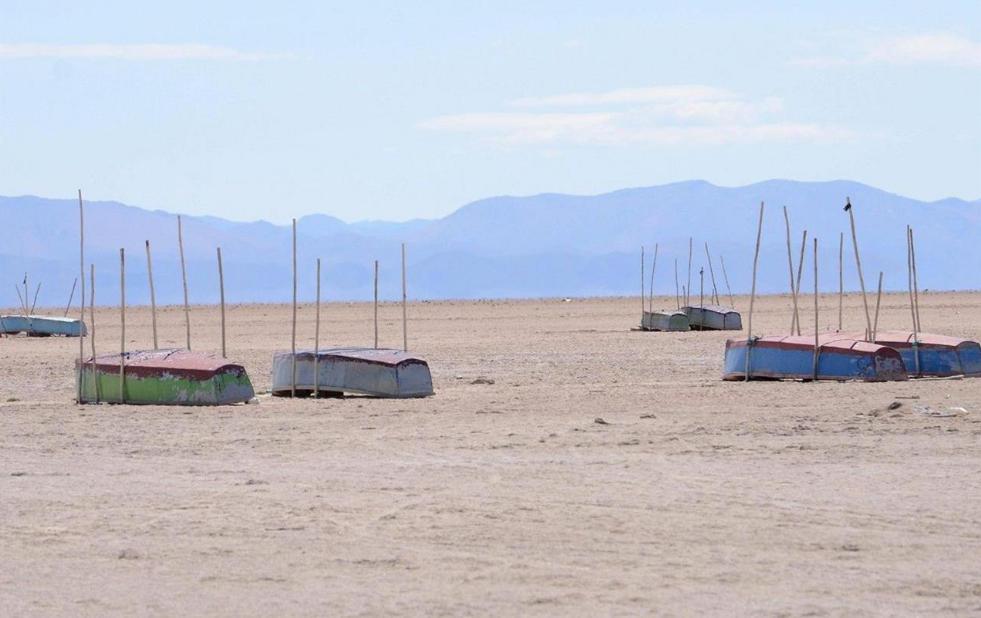 Il lago Poopó in Bolivia non c'è più, colpa del Niño