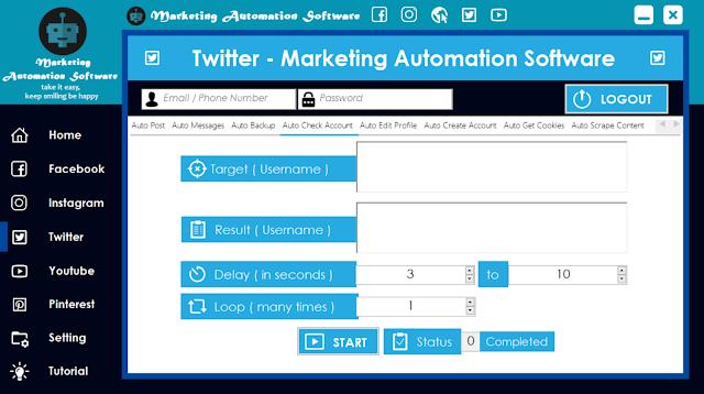 Cara Cepat Cek Akun Twitter Secara Automatis