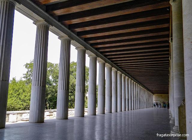 Estoa de Átalo, Ágora Antiga, Atenas, Grécia