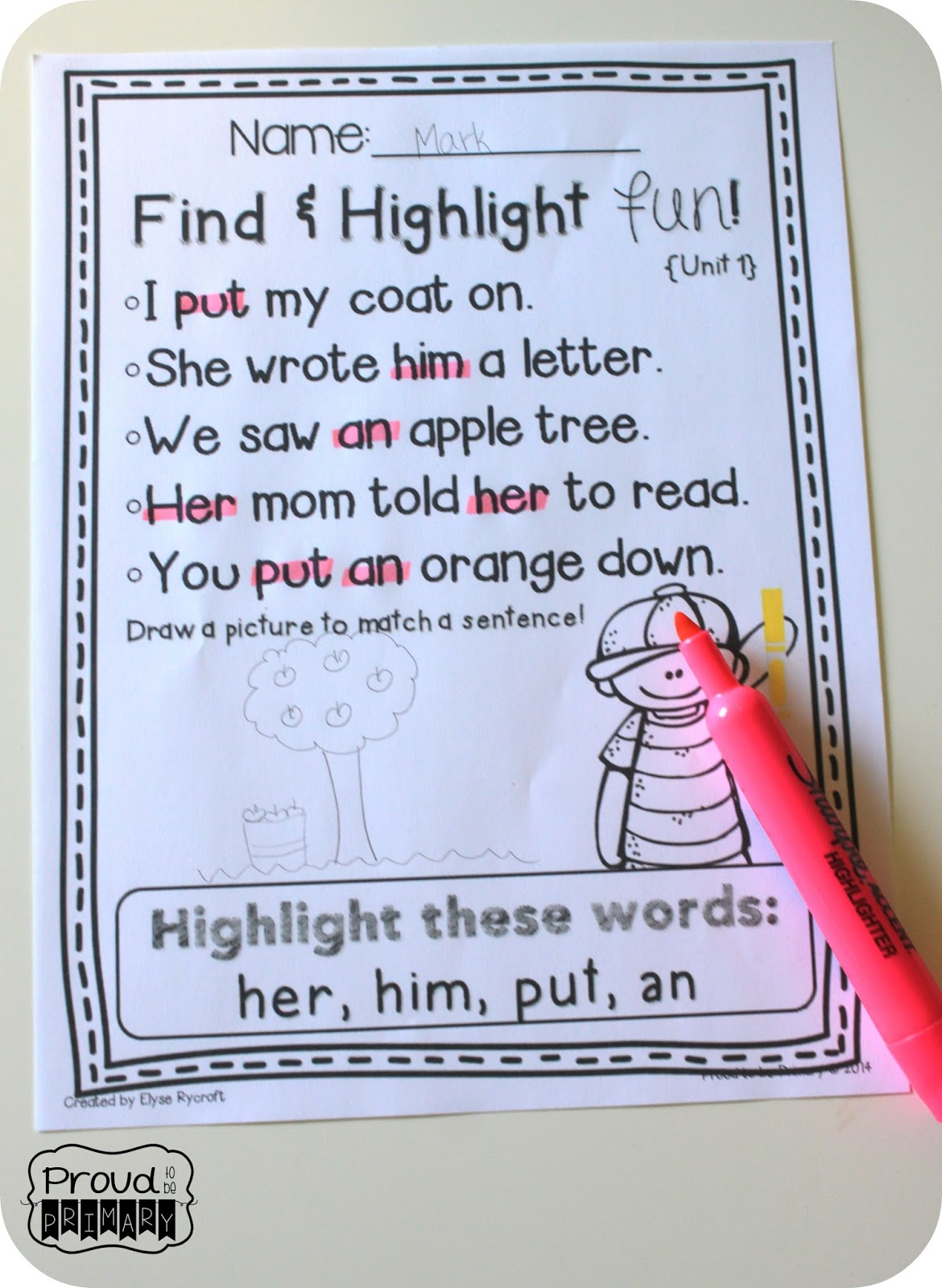 Learning Sight Words To Read And Spell Fluently Proud To