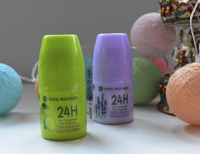 Desodorantes Antitranspirante  de Yves Rocher