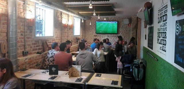 Comedor con pantallas, S10 Tusolovive Madrid