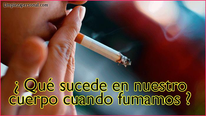 que causa el tabaco en el organismo
