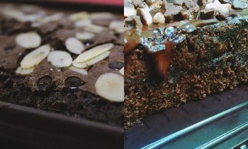 Cara Membuat dan Resep Brownies Kukus Kacang Pistachio - chef.heru.my.id