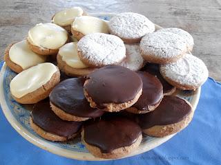 ~ Mantecados con chocolate ~