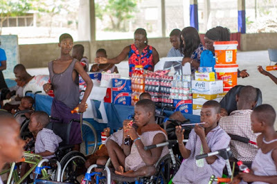 Miss Enestina Gyemfi Celebrates Birthday With Physically And Mentally Challenged
