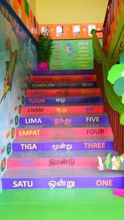hiasan tangga sekolah - inspirasi dekorasi rumah