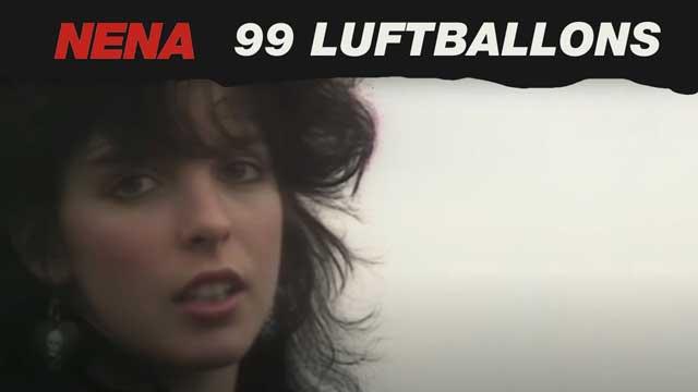 99 Luft Balloons oleh Nena