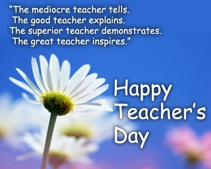 Happy teachers day poems