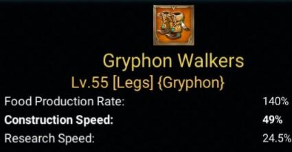 Gear Laju Pembangunan Terbaik - Gryphon Walkers