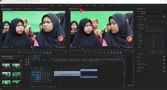 Perkenalan Workspace Adobe Premiere Pro CC2019