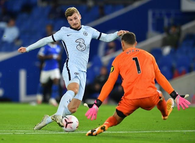 Werner começa bem pelo Chelsea