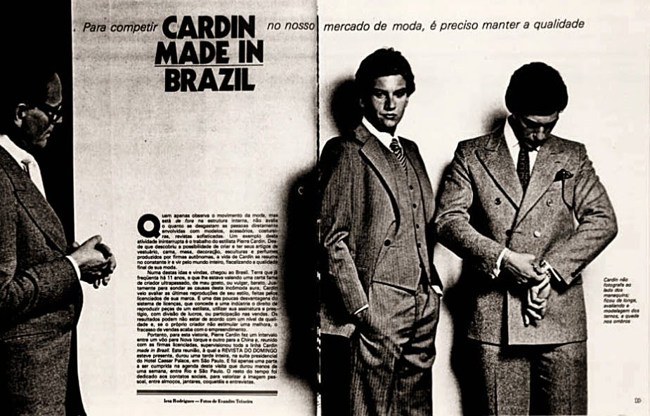 moda masculina anos 70. Pierre Cardin década de 70. Moda anos 70.