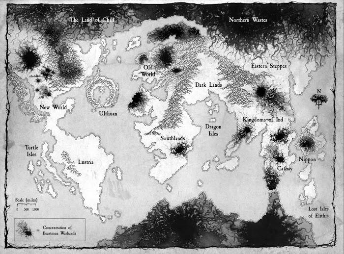 全軍破敵 戰鎚 中古戰錘人類國家與地圖介紹 | 娛樂計程車