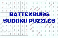 Battenburg Sudoku Variation Puzzles