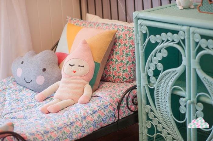 decoración habitación niñas compartida