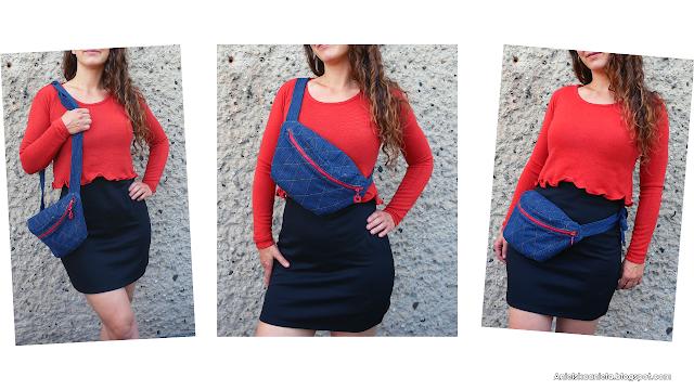 diy fanny pack tutorial and free pattern | jak uszyć torebkę nerkę | darmowy wykrój